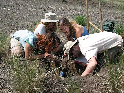 Soil Science Students